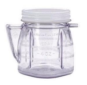 Oster Mini Blender Jar Plastic Storage Break Resistant