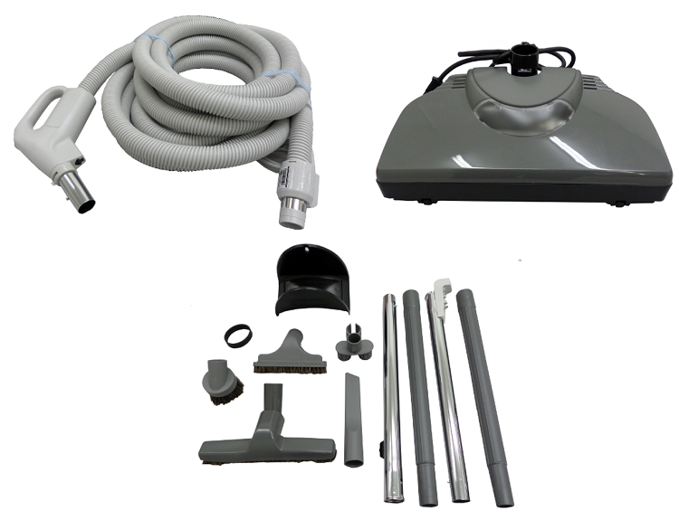 Central Vacuum Kit For Beam With Electric Powerhead And