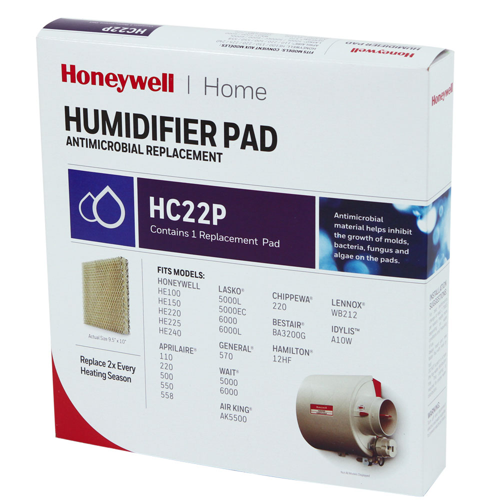 Honeywell Hc22p He220 Whole House Humidifier Pad