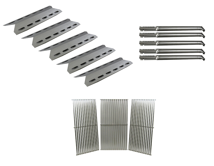 Charmglow 720-0578 Gas Barbecue Grill Replacement Grill Burners, Heat Plates, Cooking Grid at Sears.com