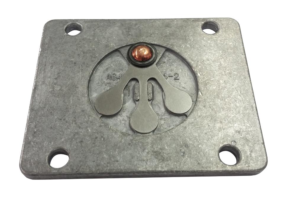 Husky Air Compressor Valve Plate For A640100 With Valves Oem