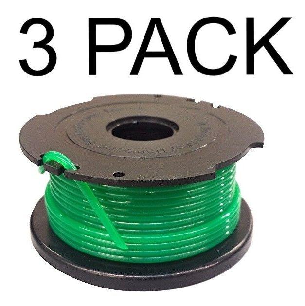 3 Trimmer Spool For Black Decker Sf 080 Bkp