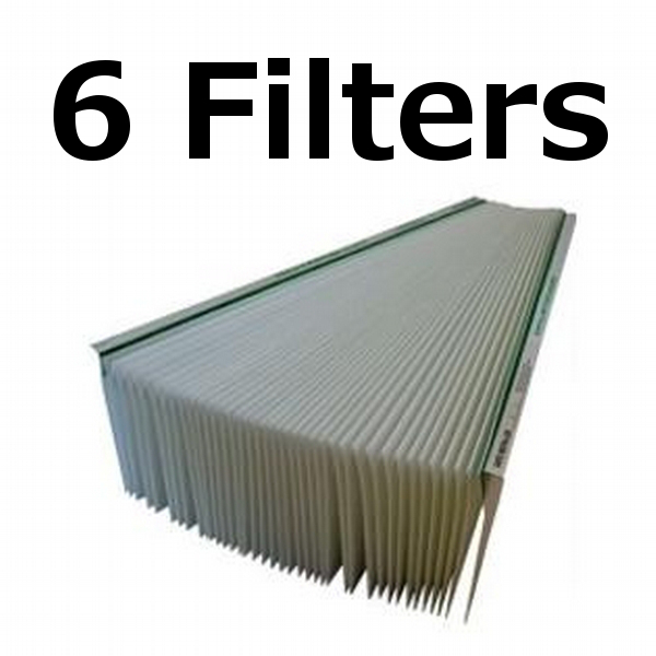 6 Pack Aprilaire Space Gard Air Filter Replacement For 201