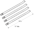 Amana Gas Grill Replacement Grill Burner4 Pack SRHFCTG2608013