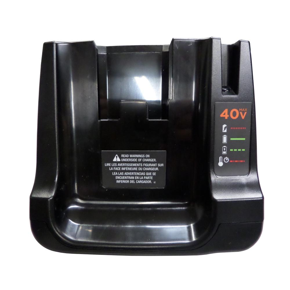 Black Amp Decker 40v Max Li Ion Fast Charger W Light