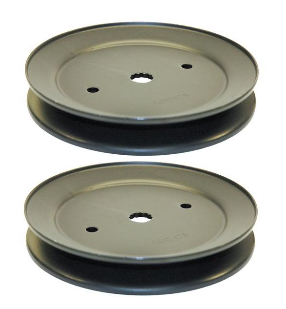 Lawn Mower Deck Pulleys : Ayp belt drive blade deck pulley mandrel for