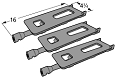 Bakers & Chefs Grill P1925C Replacement Gas Grill Burner P1925A 3 Pack