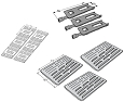 Members Mark Replacement Members Mark Gas Grill Repair Kit Replacement Grill Heat Plate and Burner with Ceramic Heat Tamers at Sears.com