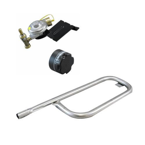 Weber Q100 Q120 Grill Tube Burner, Valve & Regulator, Knob Kit