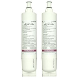 KitchenAid Replacement Quarter Turn Refrigerator Water Filter 4392857, 2 Pack at Sears.com