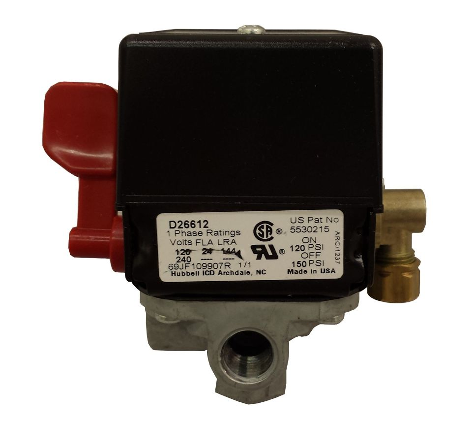 Craftsman Air Compressor Pressure Switch Z D26612 For Diagram Bizrate Store Ratings Summary