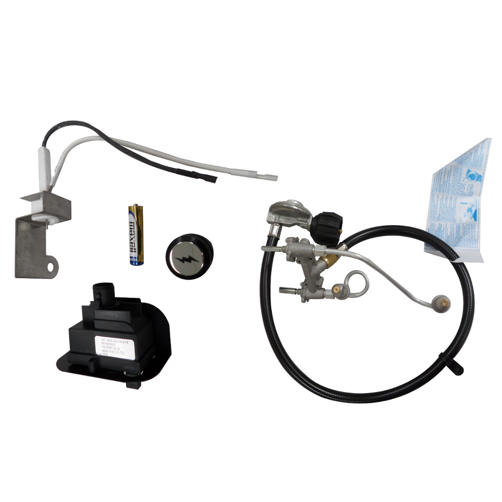 Weber Q320 Gas Grill Igniter Kit 80452 Valve Manifold And