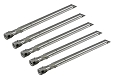 Uniflame Outdoor Barbecue Gas Grill GBC1059WB Replacement Stainless Steel Burner, 5 Pack