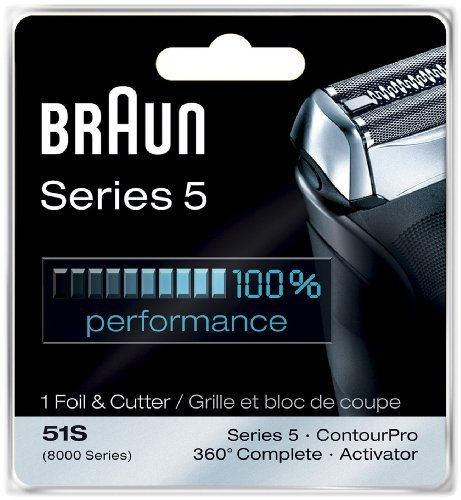 Braun Braun 8995 Foil and Cutter Shaver Replacement 8000FC
