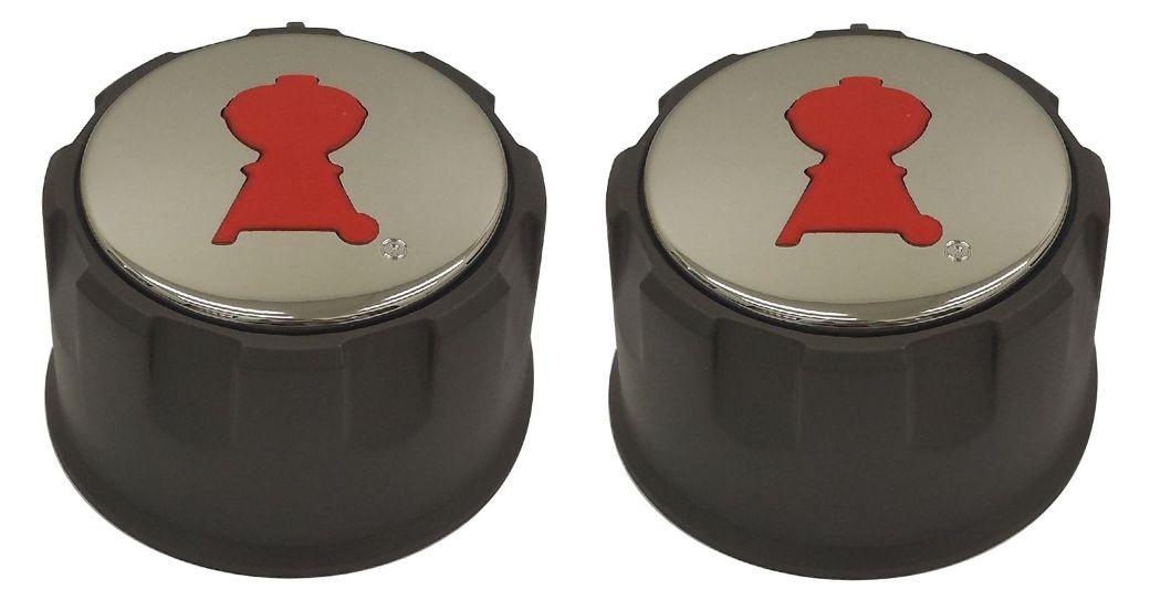 2 weber gas grill knobs for spirit e 210 e 220 s 210. Black Bedroom Furniture Sets. Home Design Ideas