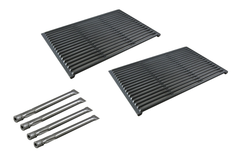 Brinkmann Pro Series 6430 4 Burner 810-6430-W Gas Barbecue Grill Replacement Burners & Cooking Grill Grids at Sears.com