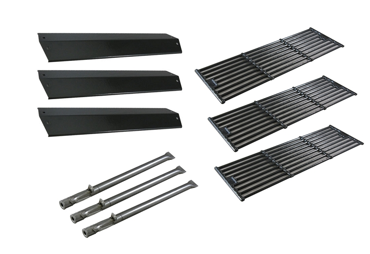 Char-Griller Chargriller Grillin Pro 3001 Gas Barbecue Grill Replacement Burners, Heat Plates, & Cooking Grill Grids at Sears.com