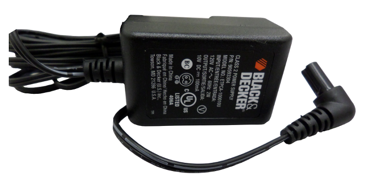 Black Amp Decker Replacement Power Tool Battery Charger