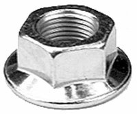 MTD Genuine Factory Parts MTD Riding Lawn Mower Hex Flange Nut Replacement Tractor Blade Spindle Nut 712-0417A at Sears.com
