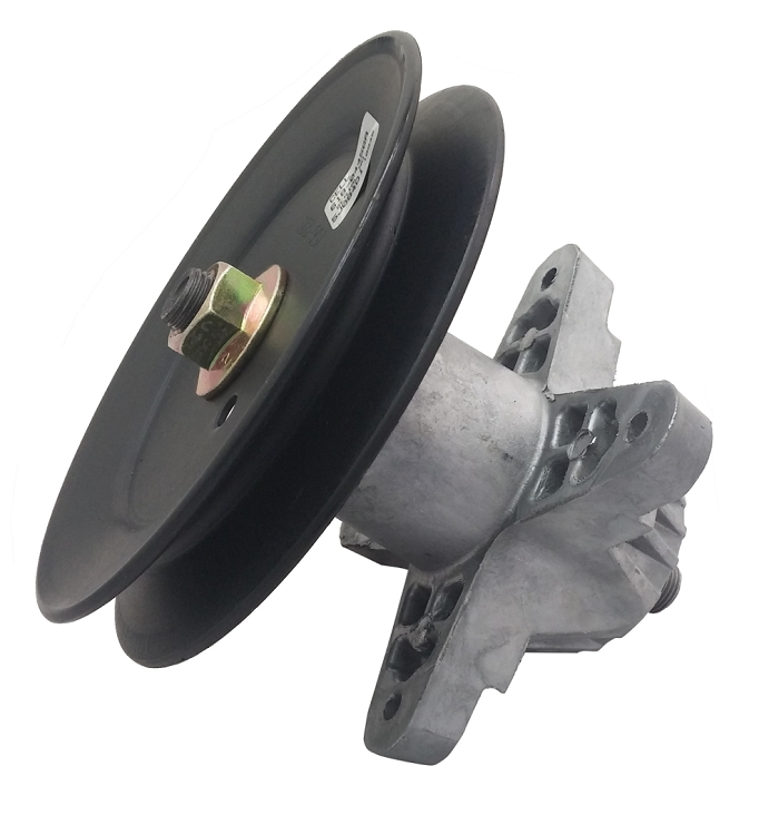 Spindle Pulley For Riding Mowers : Mtd  lawn mower deck spindle assembly pulley