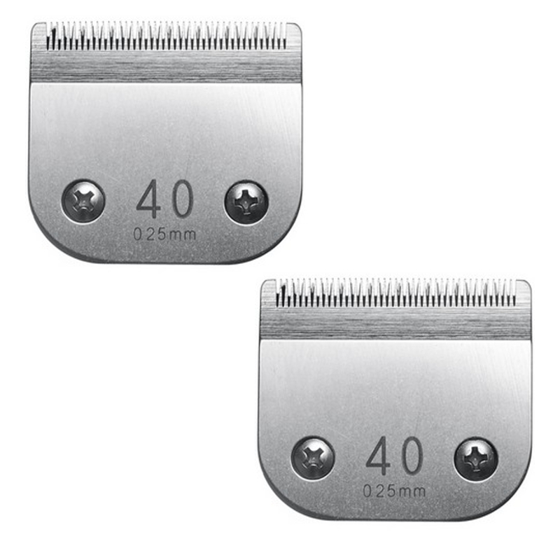 2 Clipper Blades 40 For Oster