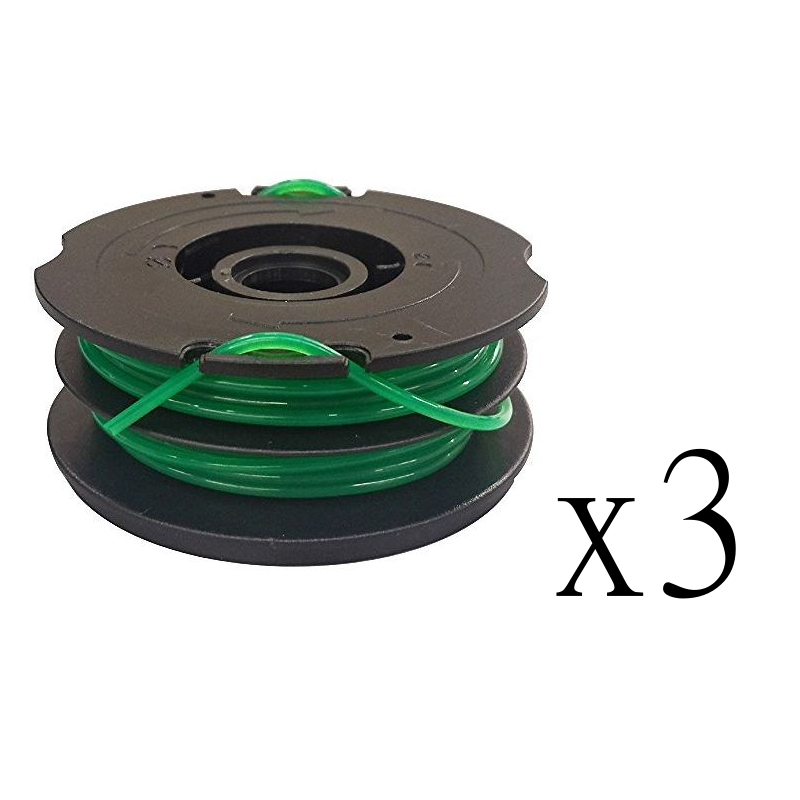 3 Trimmer Line Spools For Black And Decker Gh1000