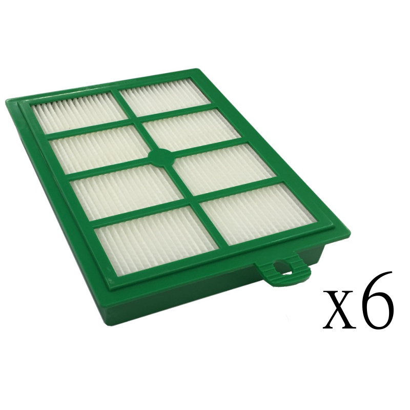 6 Hepa Filters For Electrolux H12 H13 Harmony Oxygen