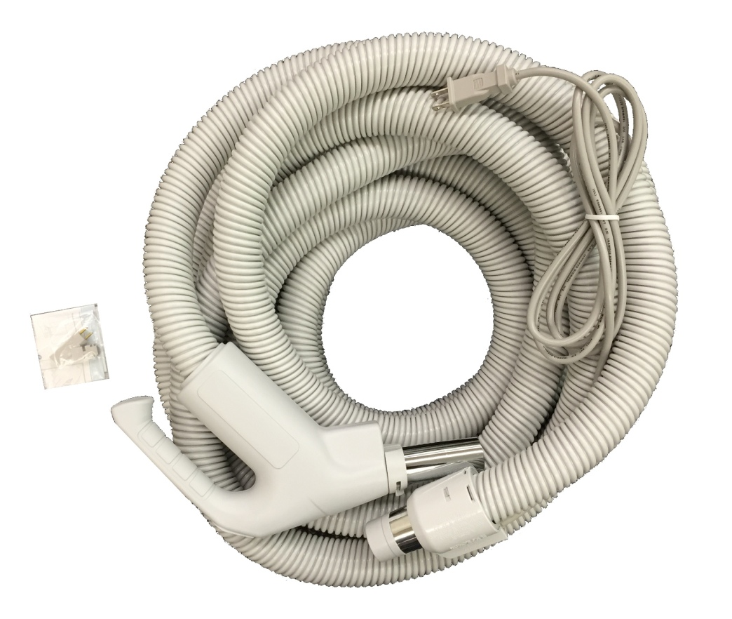 Central Vac Electric Hose 35ft For Beam Nutone Pigtail Or