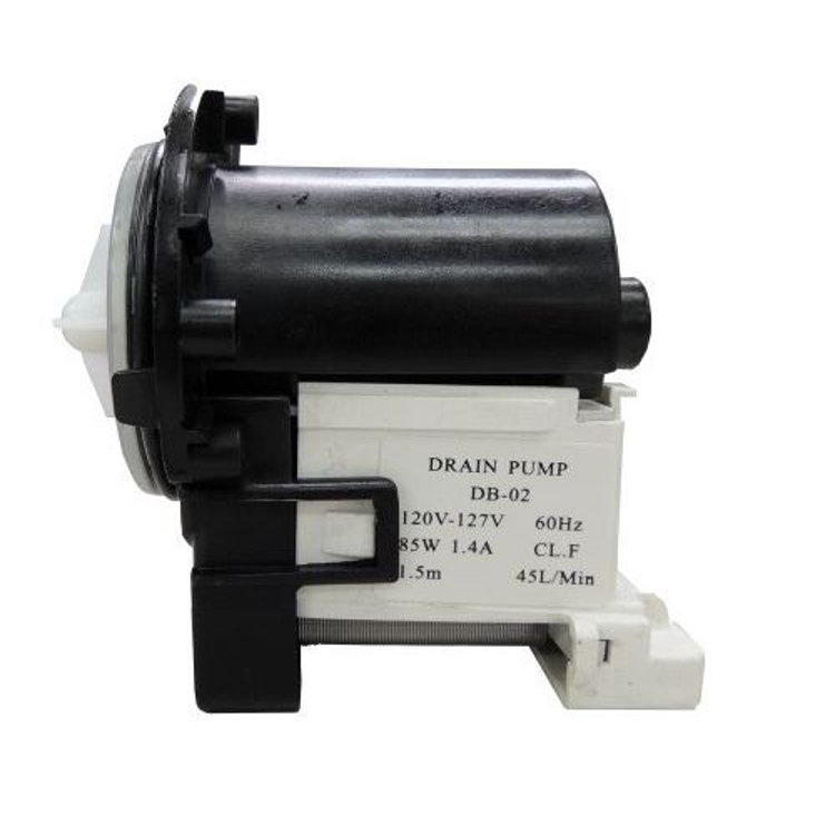 Washing machine drain pump motor assembly for lg for Lg washing machine pump motor