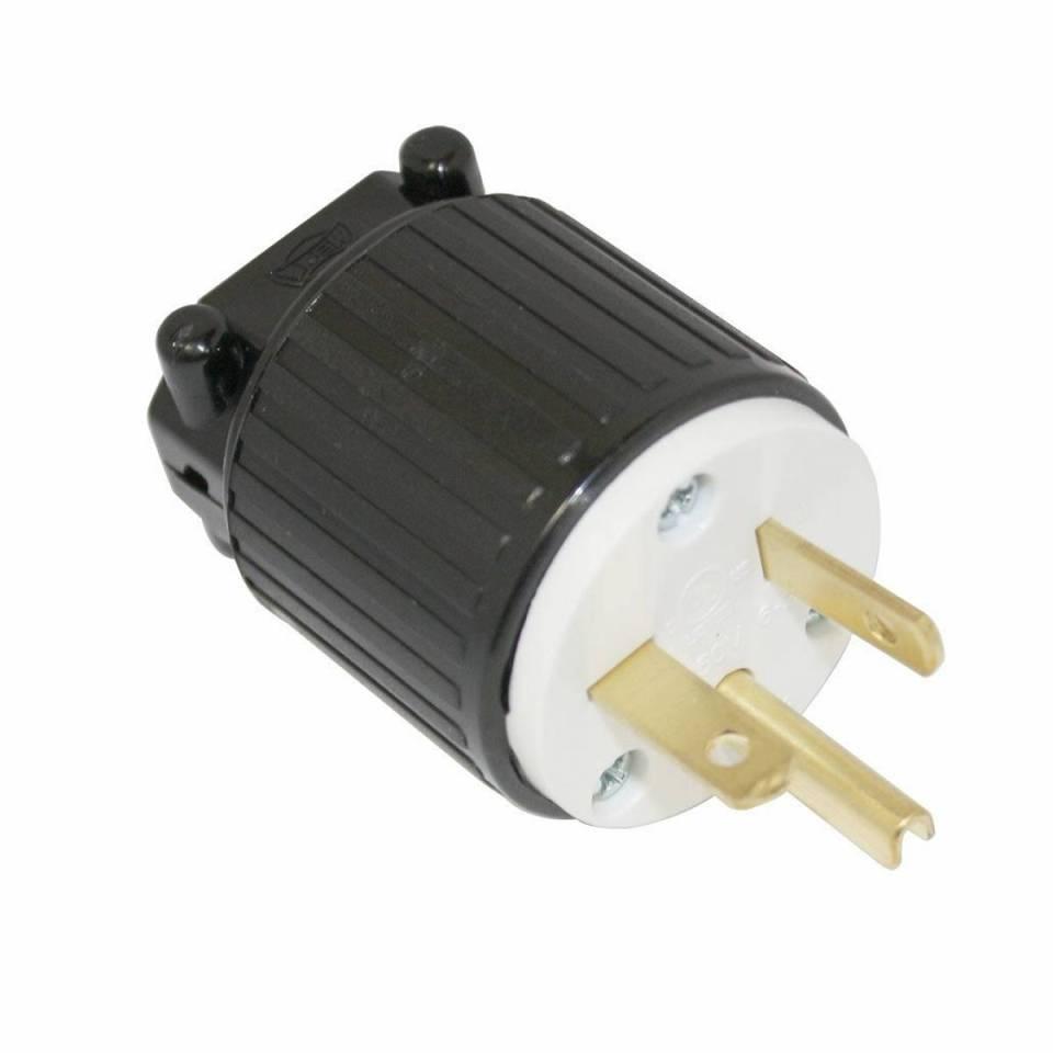 Plug 250V, 20A NEMA 6-20 Straight Blade Locking