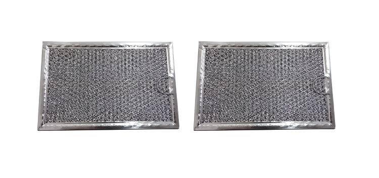 General Electric 2-PACK Microwave Hood Grease Filter to fit GE WB06X10309