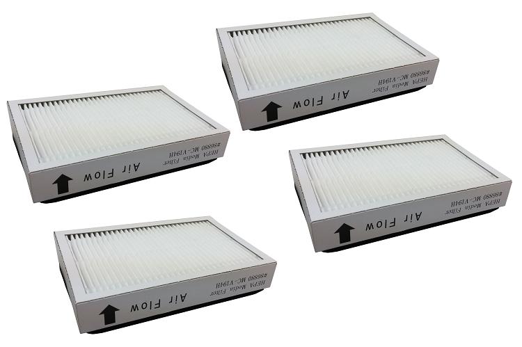 4 Hepa Filter For Kenmore Ef2 86880 610445