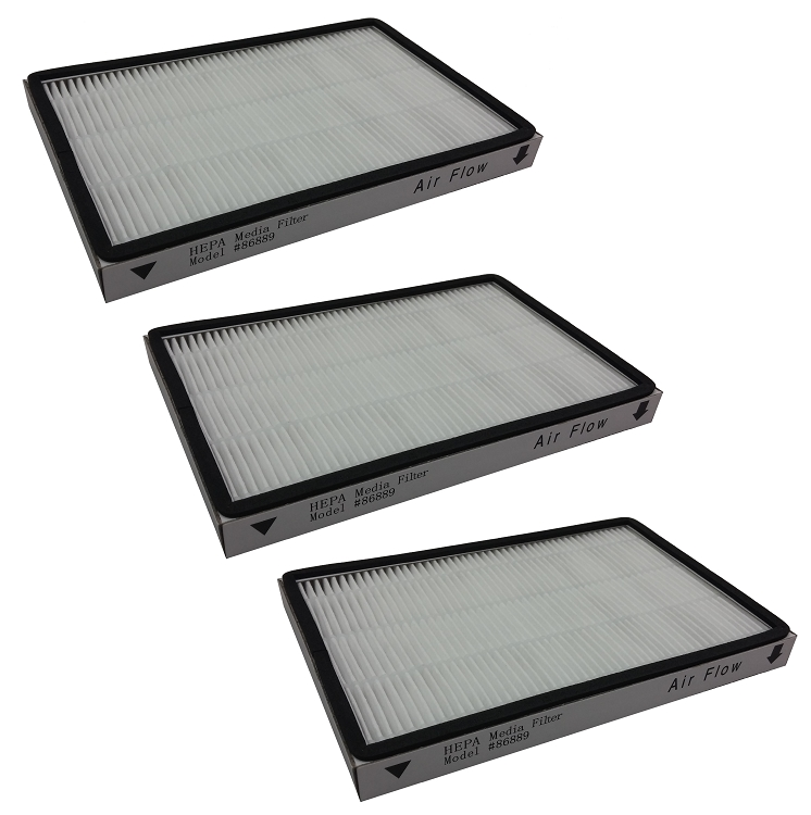 3 Hepa Filters For Kenmore 4370417 Kc38kcen1000 Exhaust