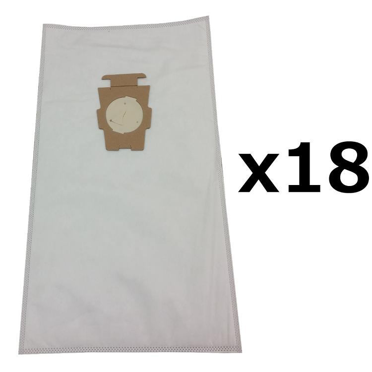 18 Bags For Kirby Sentria Vacuum F Style Cloth Hepa White