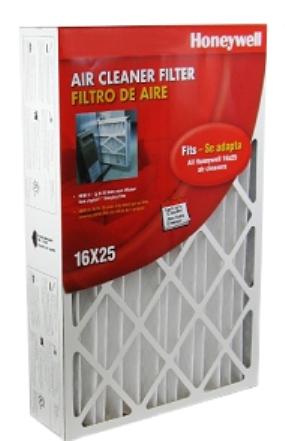 Honeywell Cf100a1009 16x25x4 Furnace Filter Merv 8 Filter
