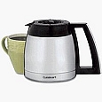 Cuisinart DGB-900BC Coffee Maker Thermal Carafe 12-Cup Black DGB900BC