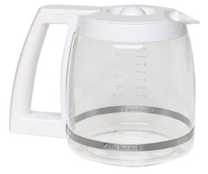 Cuisinart Dcc 1100 Coffee Maker 12 Cup Carafe Glass White