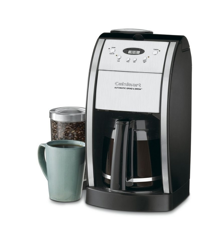 Reviews Of Grind And Brew Coffee Maker : Cuisinart Grind and Brew 12 Cup Coffee Maker DGB-550BK
