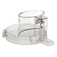 Cuisinart 11 Cup Food Processor DLC-2011 Work Bowl Lid Large Feed Tube
