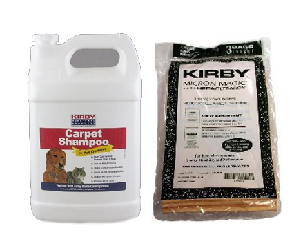 Replacement Kirby Ultimate G Carpet Shampoo Pet Solution and Microfilter Bags Cleaning Kit at Sears.com