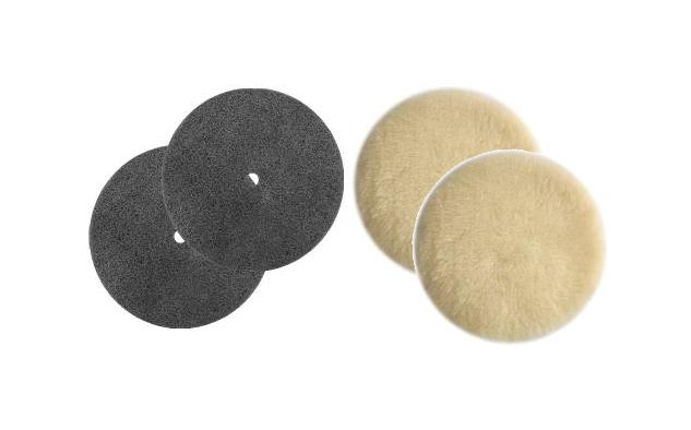 Regina Lambs Wool Polishing Pads And Regular Buffing Floor