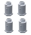 Estate Dryer Replacement Leveling Foot Replaces 49621 4-Pack