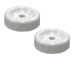 GE Dishwasher Lower Dishrack Roller Wheel Replaces WD12X10074, 2 Pack