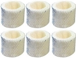Holmes H62, HC-25 Replacement Wick Humidifier Filter, 6 Pack