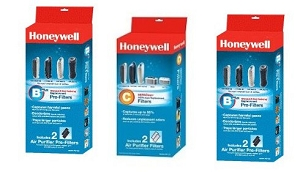Honeywell HHT Series Air Purifier Replacement Air Cleaner 1 Year Supply, 4 Prefilters & 2 HEPA Filters at Sears.com