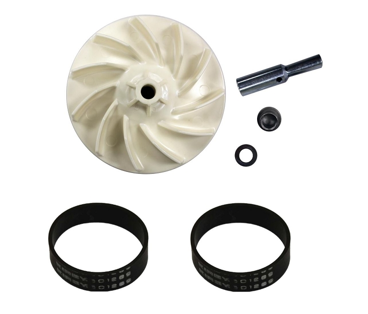 Kirby Heritage And Legend Impeller Fan And 2 Belt Kit