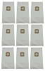 9 Bags for Kirby Vacuum HEPA Cloth G4, G5, G6, G3, White 205803