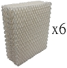 6 Humidifier Filters for Bemis Essick Air 1043