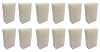 12 Essick Air HDC-1 Humidifier Filters Wick