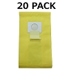 20 Bags for Kenmore Vacuum 5055 50557 50558 C Panasonic C-5 Bag